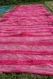 块织品晒印方法4 免版税库存图片
