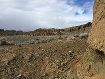 坚固性堡垒岩石风景 库存图片