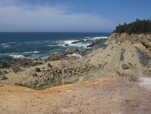 坚固性太平洋海滩 免版税图库摄影