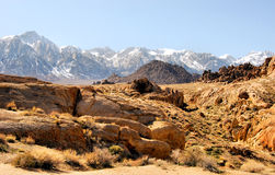 坚固性小山的山 库存照片