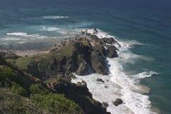 坚固性的海岸线 图库摄影