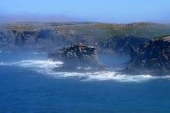 坚固性的海岸 免版税库存照片