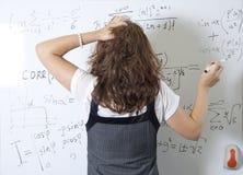 坚固的数学 库存照片