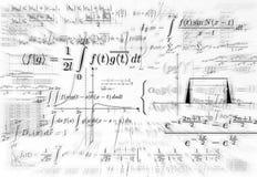 坚固的数学 免版税库存图片