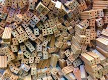 坚实黏土砖 免版税库存图片
