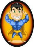 坚强的特级英雄 免版税库存照片