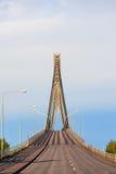 坚持的桥梁电缆 免版税库存照片