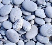 坚硬小卵石特写镜头 库存照片
