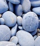 坚硬小卵石特写镜头 库存图片