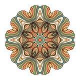 坛场圆的装饰品样式传染媒介 库存照片