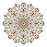 坛场装饰种族圆装饰品 库存图片