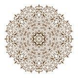 坛场装饰种族圆装饰品 免版税库存图片