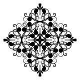 坛场 圆的四针对性的装饰品 免版税库存照片