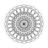 坛场-圈子的花彩图的 图库摄影