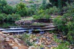水坝和河-阿尔及利亚, Cedarberg 免版税库存照片