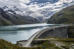 水坝在奥地利 库存图片