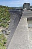 水坝墙壁画象 免版税库存照片