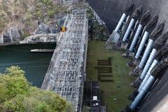 水坝的力量 免版税图库摄影