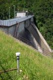 水坝监视 免版税库存照片
