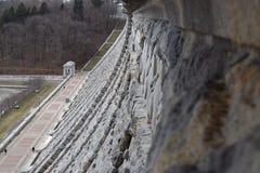 水坝看法 免版税库存图片