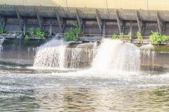 水坝老水电站 库存照片