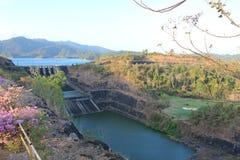 水坝集水量 库存照片