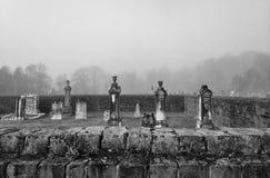 坟园和记忆 库存图片