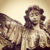 坟园天使 免版税库存图片
