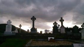 坟园爱尔兰语 库存照片