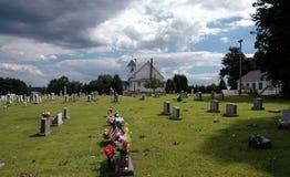坟园 库存照片
