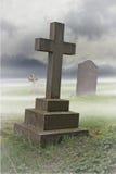 坟园 免版税库存图片