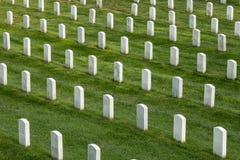 坟墓行在阿灵顿国家公墓 免版税库存图片