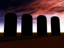 坟墓2 库存图片