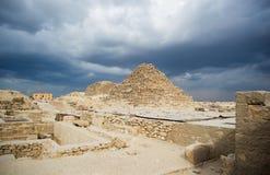 坟茔在开罗 库存图片