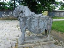 坟茔皇帝Minh Mang,颜色越南 免版税库存图片