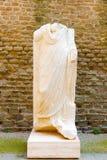 坟茔雕象罗马,意大利 库存图片