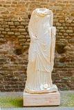 坟茔雕象罗马,意大利 免版税库存照片