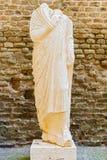 坟茔雕象罗马,意大利 库存照片