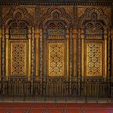坟茔(寺庙)穆罕默德・阿里巴夏,开罗城堡 图库摄影