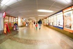 坦佩雷火车站隧道 库存照片