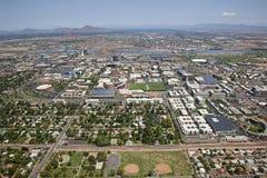 坦佩,亚利桑那地平线 库存图片