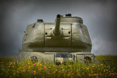 坦克世界大战2 图库摄影