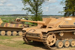 坦克世界  免版税图库摄影