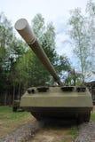 坦克在博物馆在Chernogolovke 图库摄影