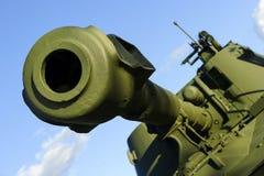 坦克大炮桶 免版税库存照片