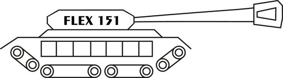 坦克导电线151 皇族释放例证