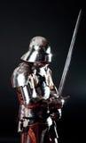 坦克战大量骑士位置 免版税库存图片