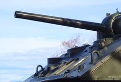 坦克机枪装甲军队战争武器 图库摄影
