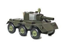 坦克玩具 免版税库存照片