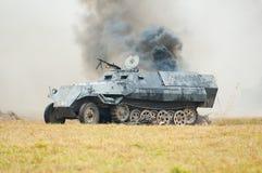 坦克生火 免版税图库摄影